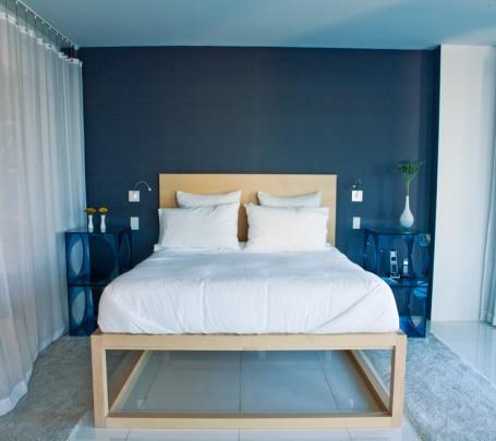 غرف-نوم-مودرن-زرقاء