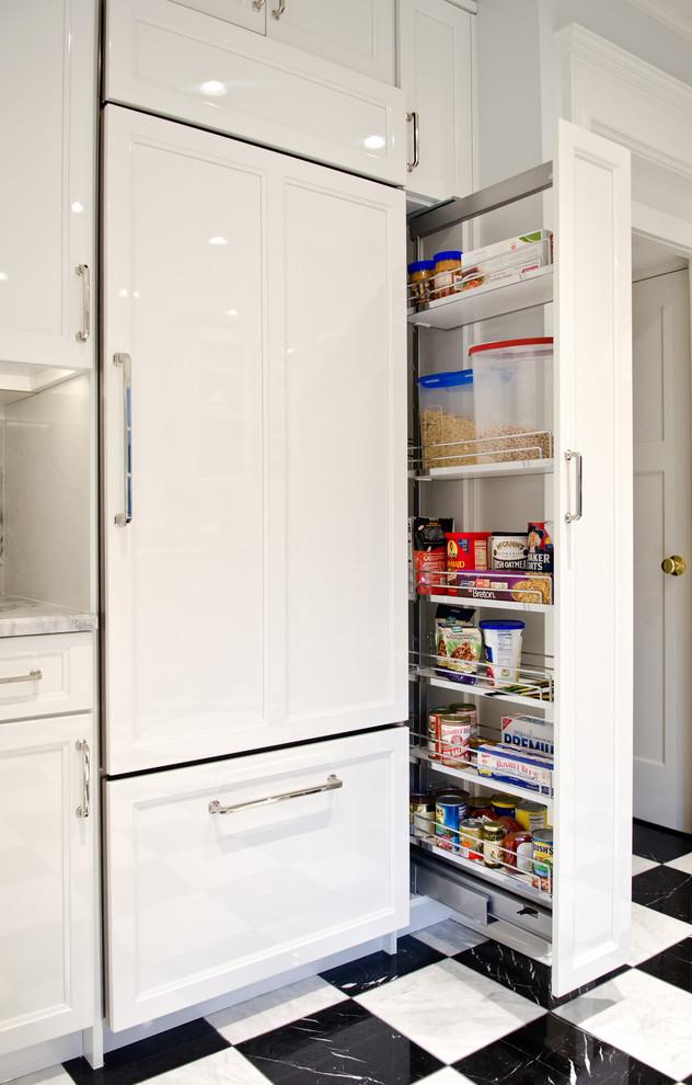 فكرة لمطبخ منظم 3ا 20 فكرة عملية لمطبخ منظم وأنيق   ج1
