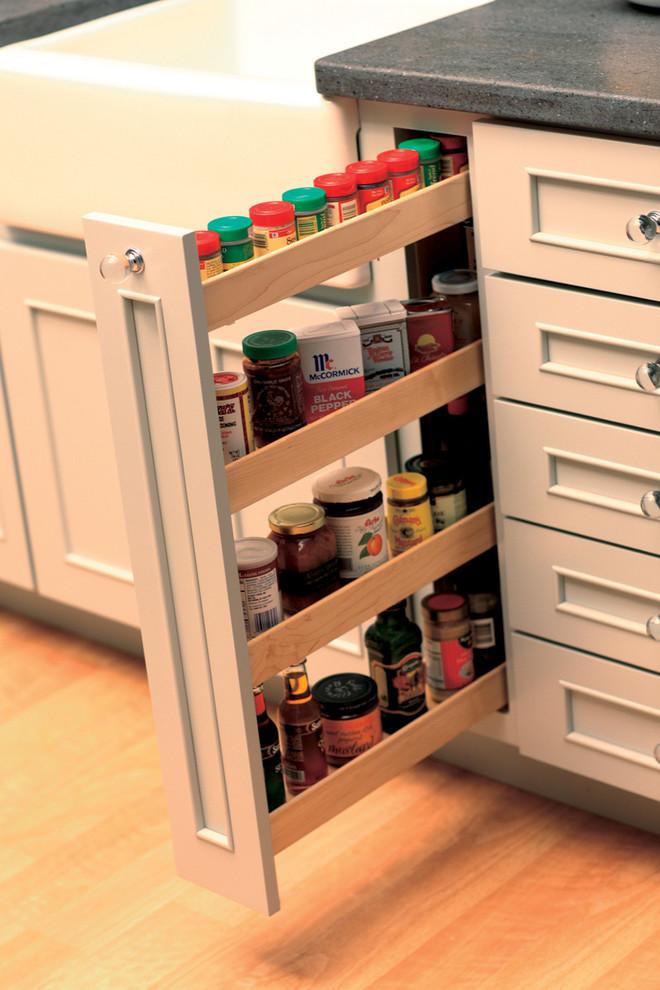 فكرة لمطبخ منظم 4 20 فكرة عملية لمطبخ منظم وأنيق   ج1