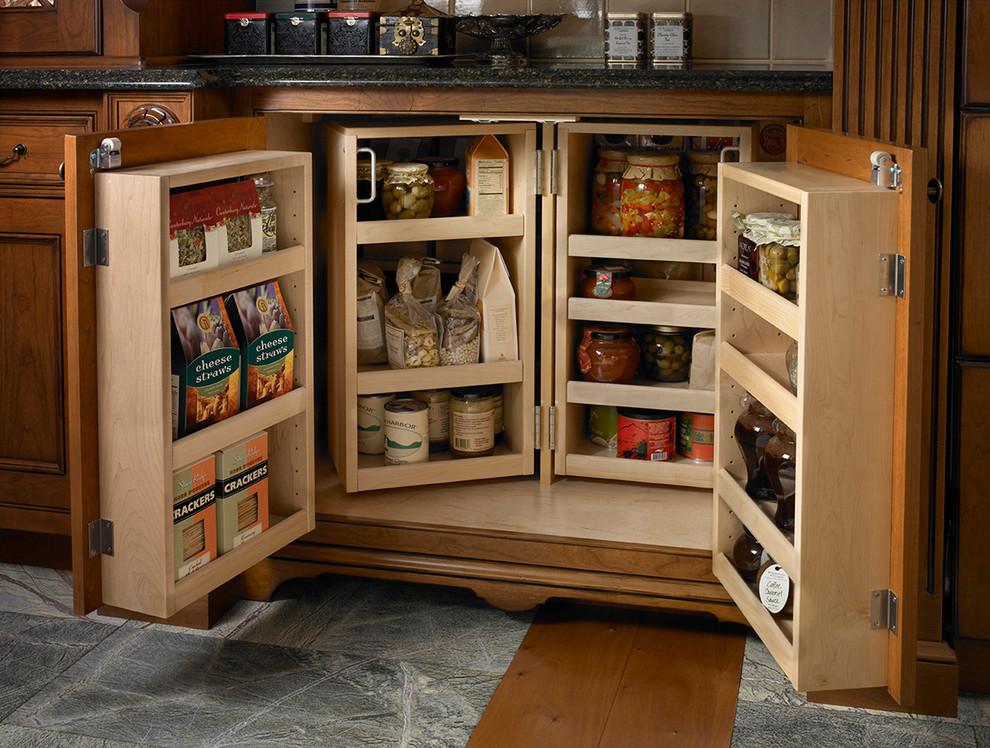 فكرة لمطبخ منظم 5 20 فكرة عملية لمطبخ منظم وأنيق   ج1