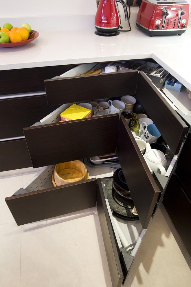 فكرة لمطبخ منظم 8 20 فكرة عملية لمطبخ منظم وأنيق   ج1