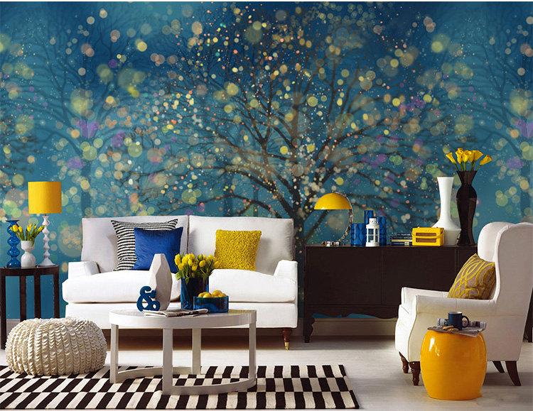 لوحة جدارية لاصقة كيف تحولين حوائط منزلك للوحات فنية مبهرة؟
