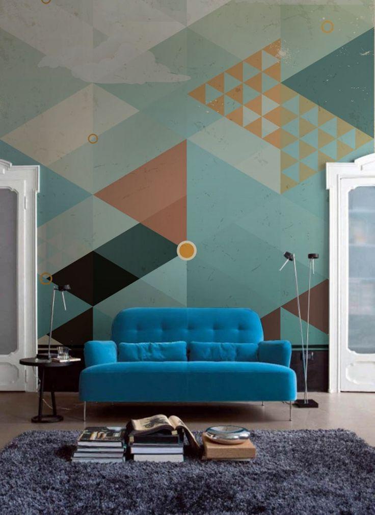 لوحة جدارية مودرن 2 كيف تحولين حوائط منزلك للوحات فنية مبهرة؟