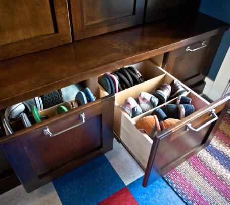 مساحة تخزين أحذية  5