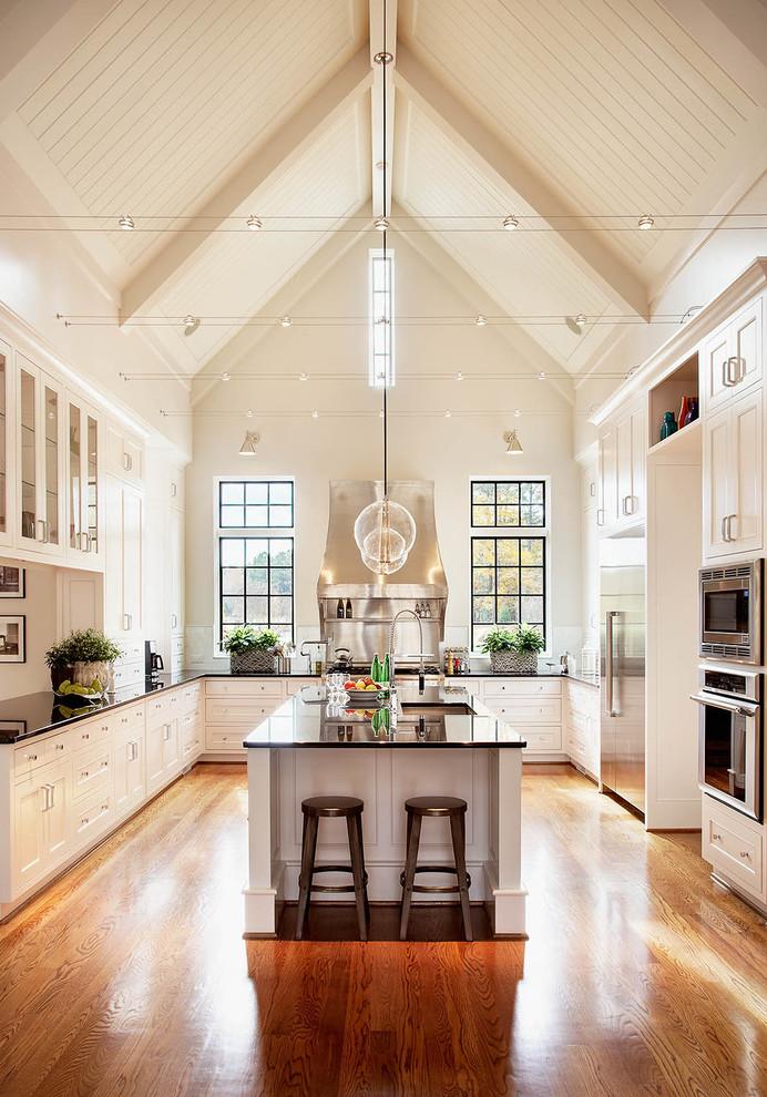 مطبخ أبيض 2 10 مطابخ رائعة باللون الأبيض