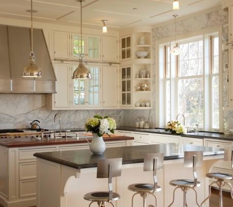 مطبخ أبيض 3