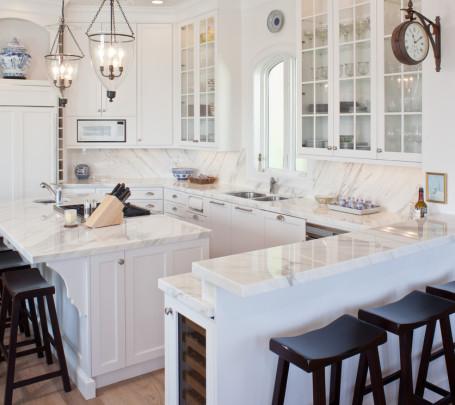 مطبخ أبيض 4