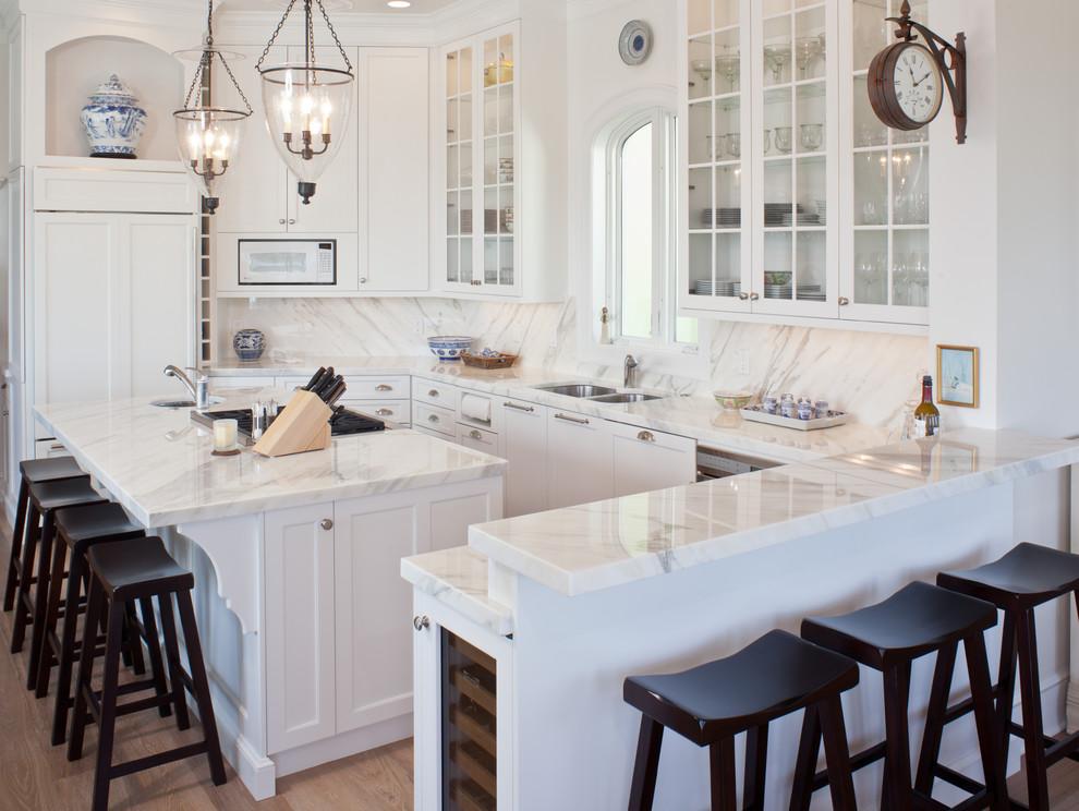 مطبخ أبيض 4 10 مطابخ رائعة باللون الأبيض