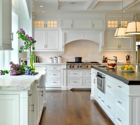 مطبخ أبيض 6