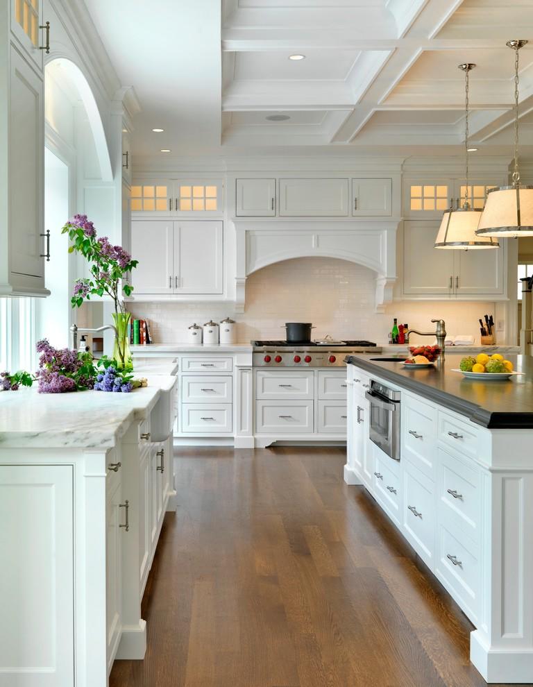 مطبخ أبيض 6 مطبخ أبيض 6