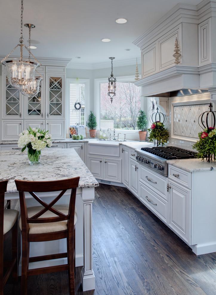 مطبخ أبيض 8 10 مطابخ رائعة باللون الأبيض