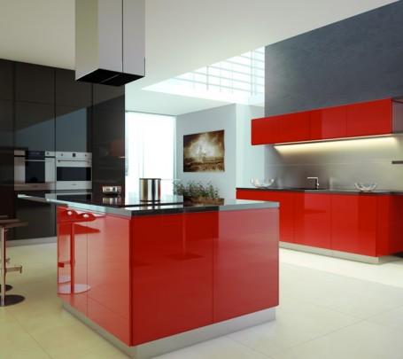 مطبخ أحمر 2