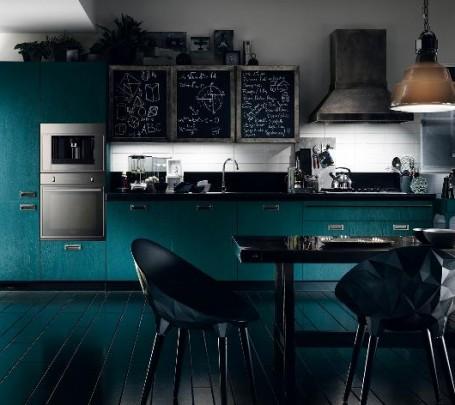 مطبخ أزرق 2