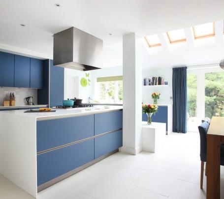 مطبخ أزرق 3