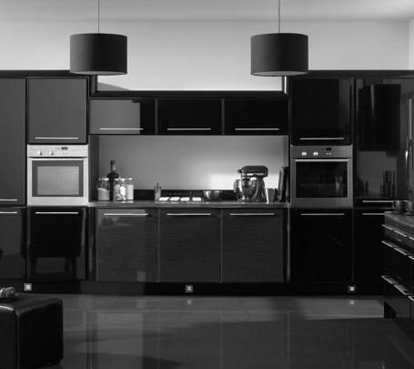 مطبخ أسود 3