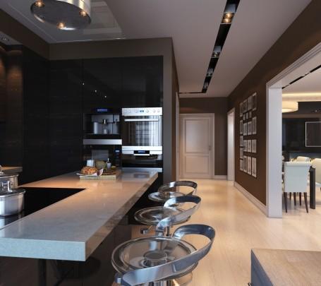 مطبخ أسود 6ا