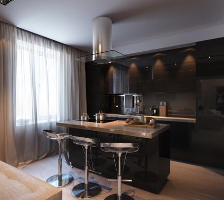 مطبخ أسود 6