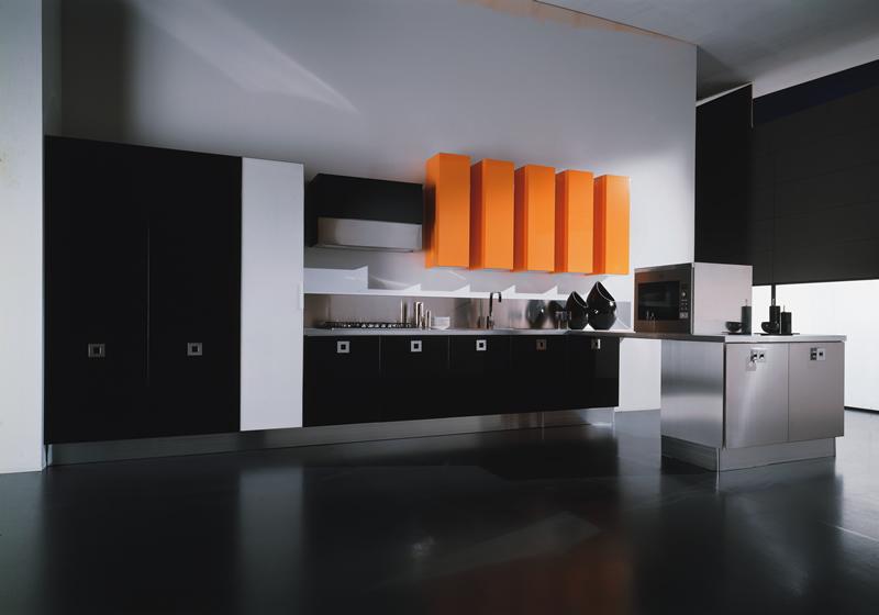 مطبخ أسود 7 أناقة وروعة الأسود في تصميمات مطابخ عصرية وكلاسيكية