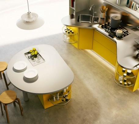 مطبخ أصفر 2