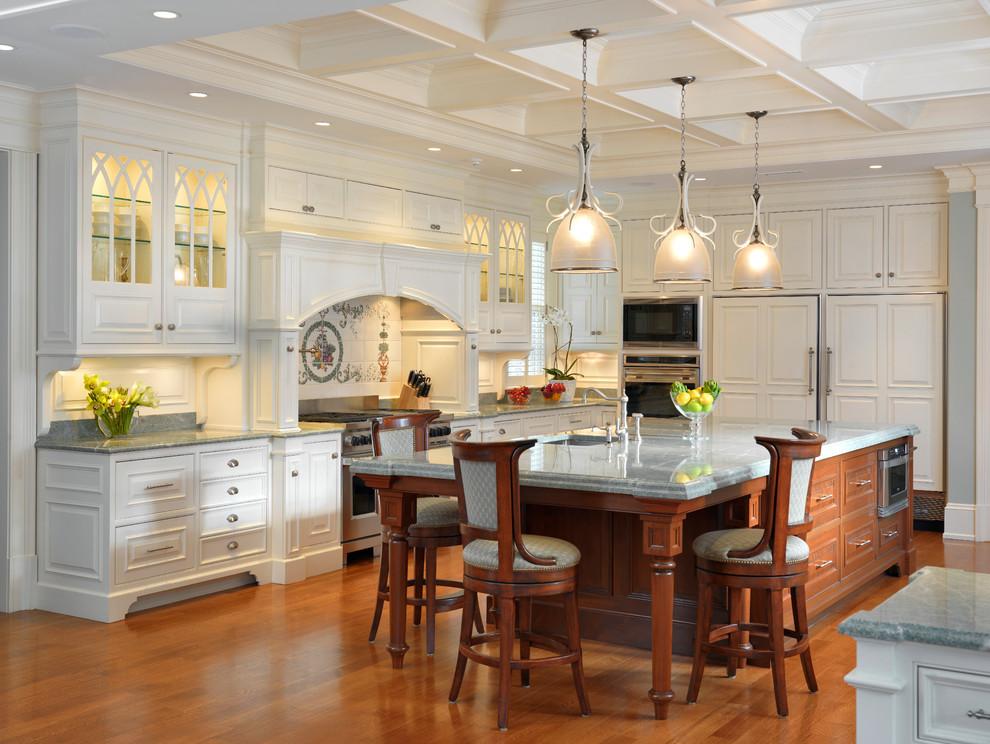مطبخ كلاسيكي فخم 5 الفخامة والأناقة في تصميمات 10 مطابخ كلاسيكية جميلة