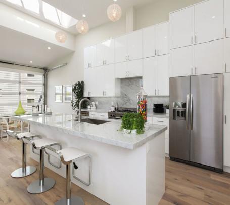 مطبخ مودرن أبيض 2