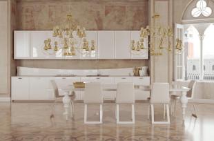 العصرية والفخامة في 10 مطابخ مودرن بتصميمات إيطالية