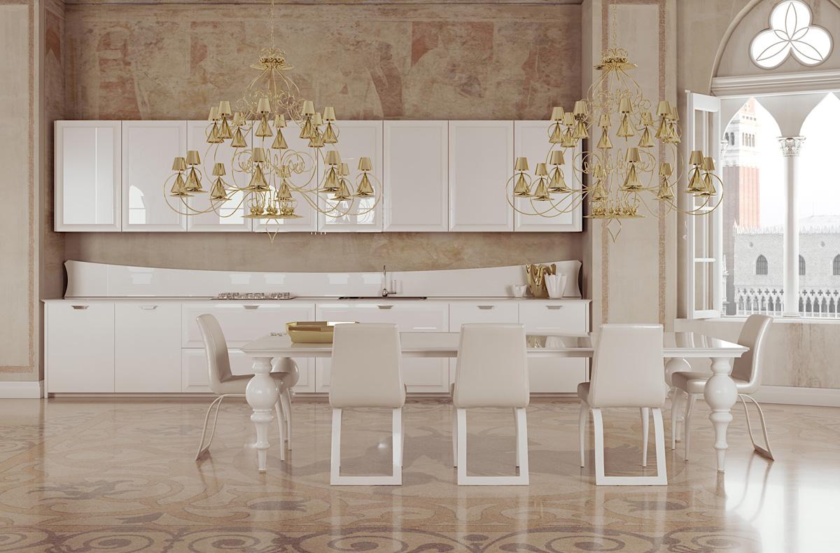 مطبخ مودرن فخم 1ا العصرية والفخامة في 10 مطابخ مودرن بتصميمات إيطالية