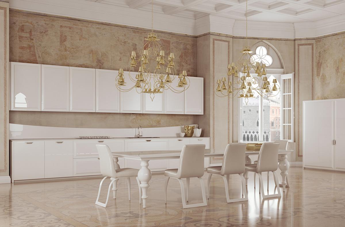 مطبخ مودرن فخم 1 العصرية والفخامة في 10 مطابخ مودرن بتصميمات إيطالية