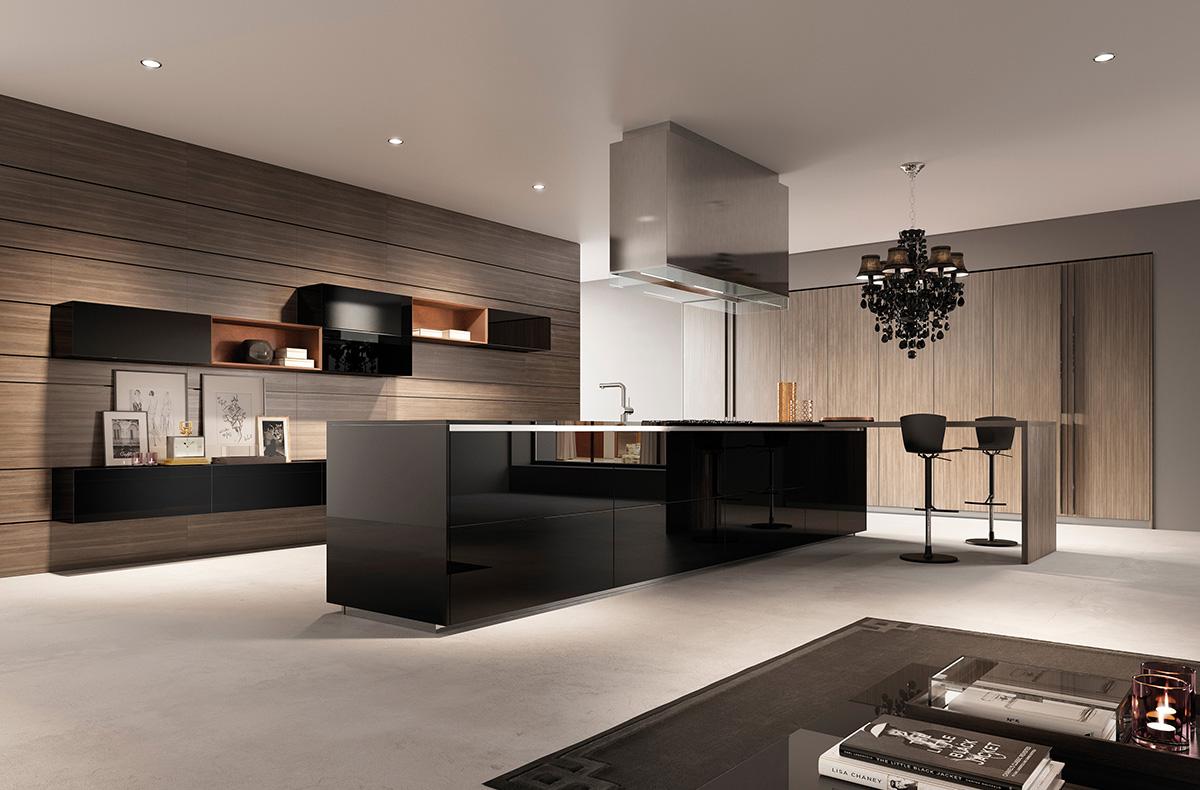 مطبخ مودرن فخم 10 العصرية والفخامة في 10 مطابخ مودرن بتصميمات إيطالية