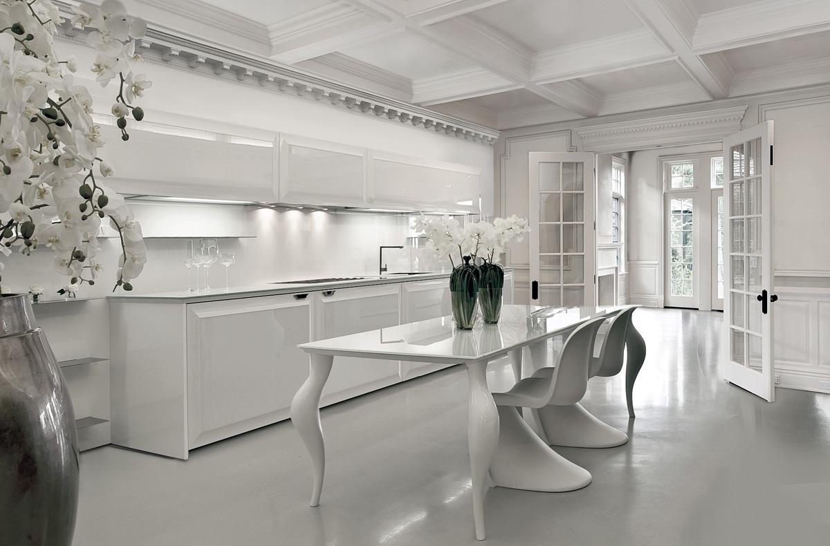 مطبخ مودرن فخم 2ا العصرية والفخامة في 10 مطابخ مودرن بتصميمات إيطالية