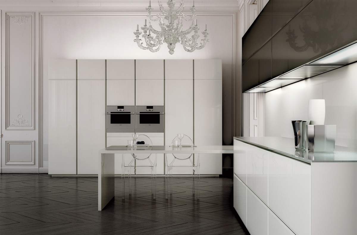 مطبخ مودرن فخم 3ا العصرية والفخامة في 10 مطابخ مودرن بتصميمات إيطالية
