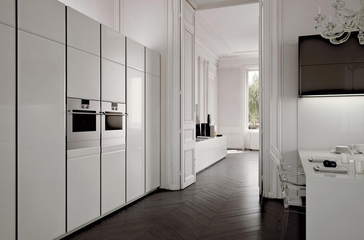 مطبخ مودرن فخم 3ب العصرية والفخامة في 10 مطابخ مودرن بتصميمات إيطالية