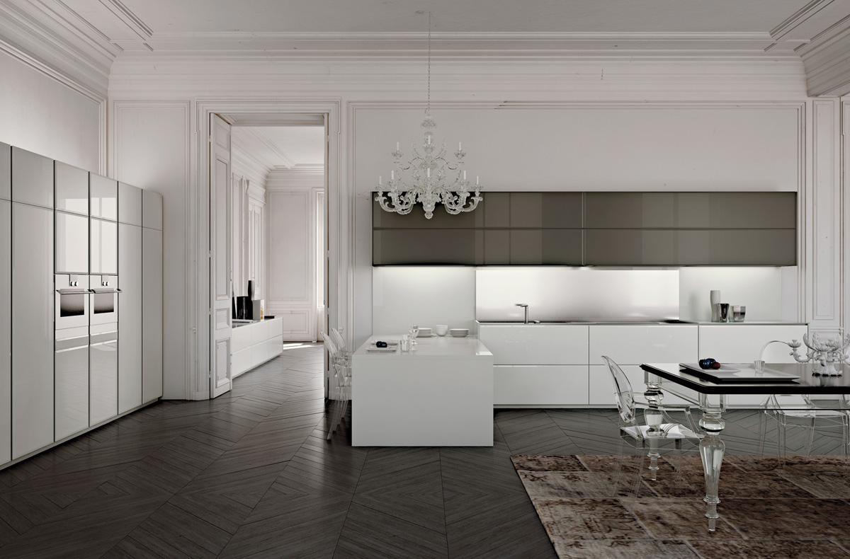 مطبخ مودرن فخم 31 العصرية والفخامة في 10 مطابخ مودرن بتصميمات إيطالية
