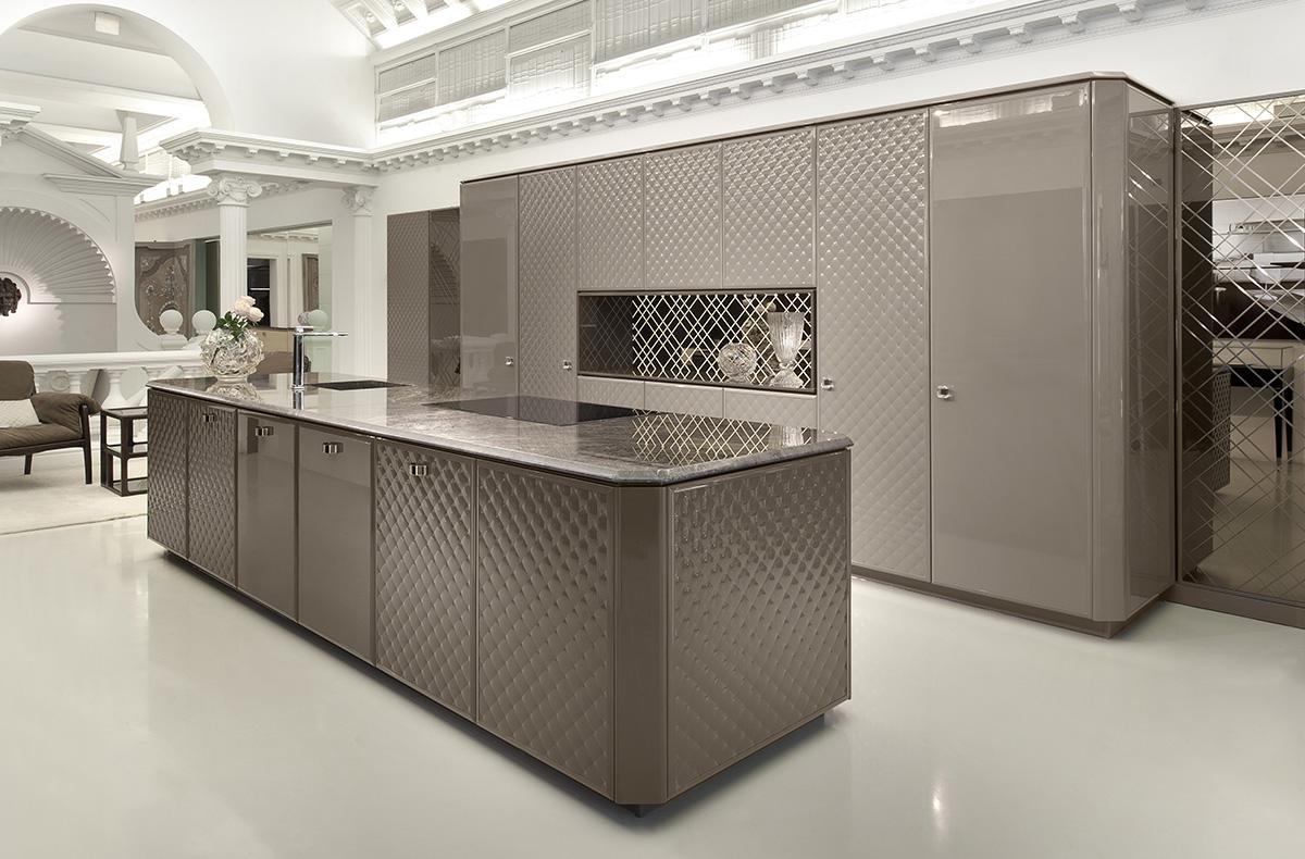 مطبخ مودرن فخم 6 العصرية والفخامة في 10 مطابخ مودرن بتصميمات إيطالية