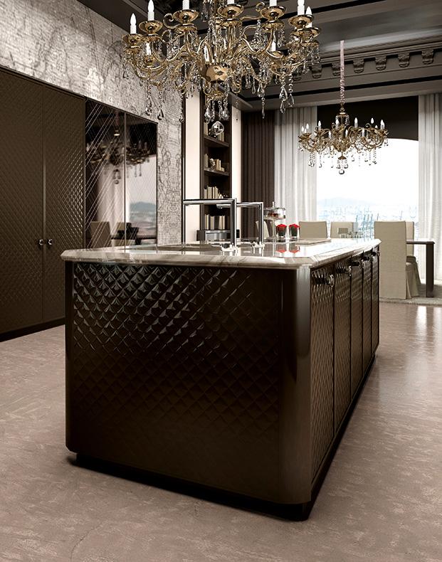 مطبخ مودرن فخم 7 العصرية والفخامة في 10 مطابخ مودرن بتصميمات إيطالية