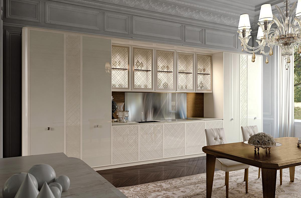 مطبخ مودرن فخم 8 العصرية والفخامة في 10 مطابخ مودرن بتصميمات إيطالية