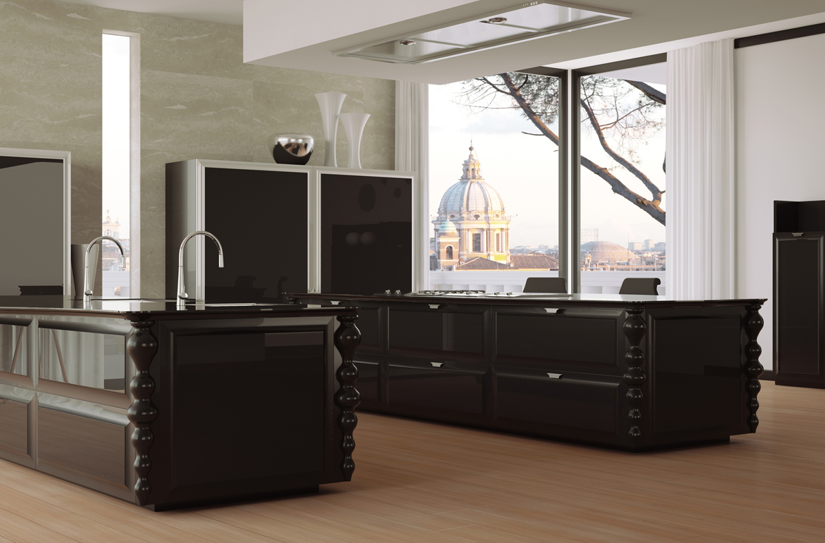 مطبخ مودرن فخم 9ا العصرية والفخامة في 10 مطابخ مودرن بتصميمات إيطالية