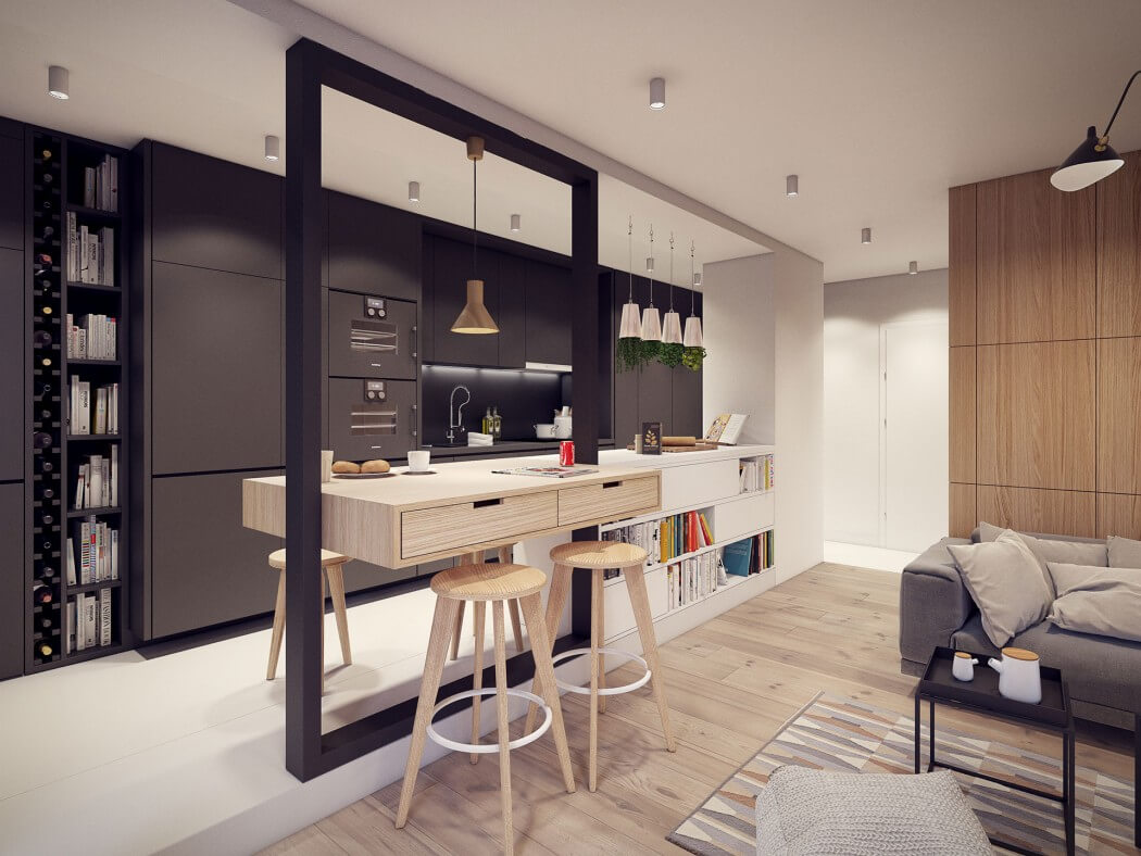مطبخ مودرن 21 أفكار رائعة وديكورات مبتكرة في منزل مودرن متميز