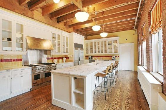 مطبخ استوحي ديكور منزلك من منزل النجمة تايلور سويفت (Taylor Swift)