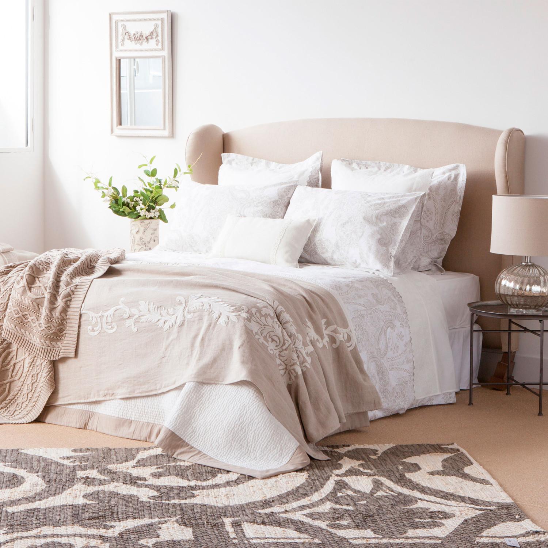 مفروشات بنقوش هادئة 1 1500x1500 مفروشات سرير بتصميمات رائعة وأذواق راقية من Zara Home