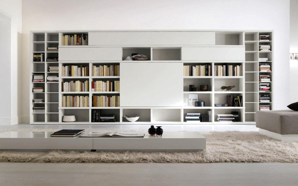 مكتبة منزل مودرن أفكار لتصميم مكتبات منزلية عصرية