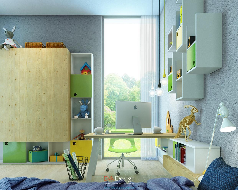 تصميمات لمساحات عمل تشجع طفلك على المذاكرة