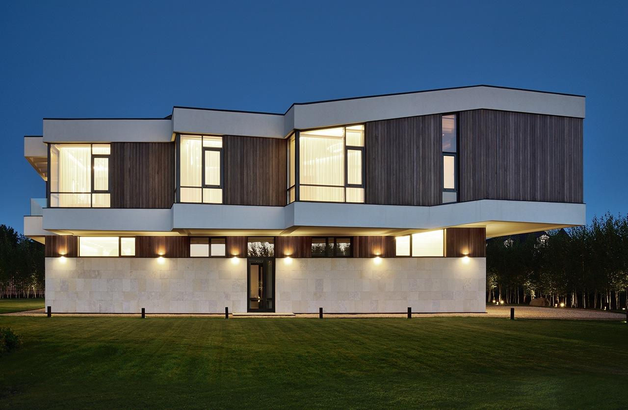 منزل حديث 1ب العصرية والفخامة في تصميم منزل متميز جدًا