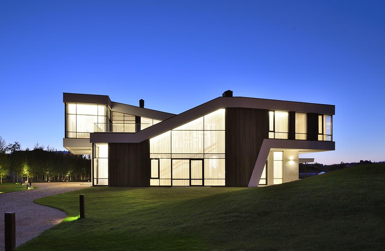 منزل حديث 1 العصرية والفخامة في تصميم منزل متميز جدًا