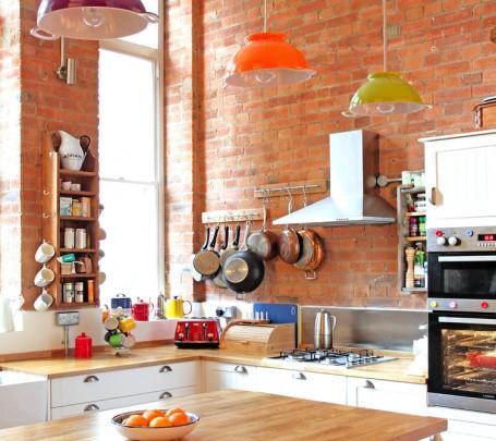 وحدات إضاءة ملونة للمطبخ