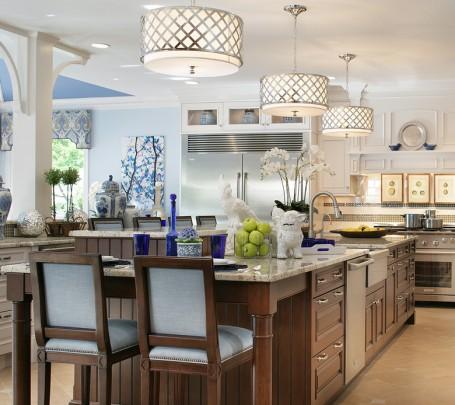 وحدات إضاءة مميزة للمطبخ