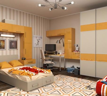 1-Yellow-kids-room