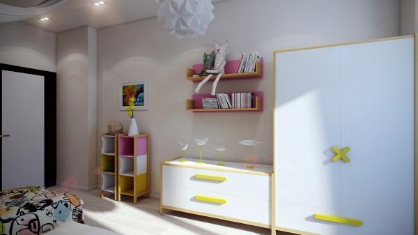 12 Modern kids furniture 600x337 اجمل الوان تناسب غرف نوم الاطفال