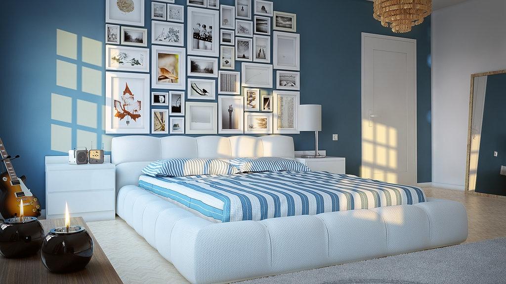 %name 16 Blue white kids room