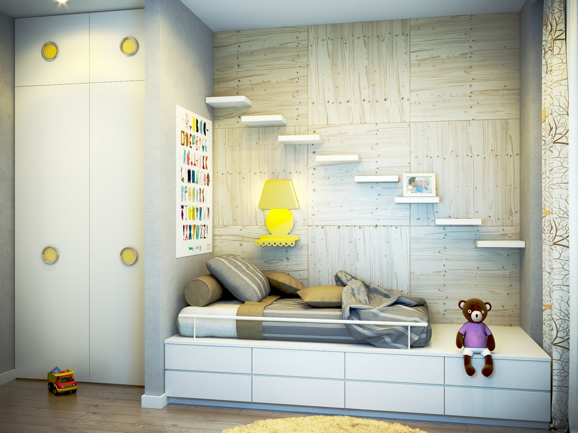 %name 17 yellow white kids room